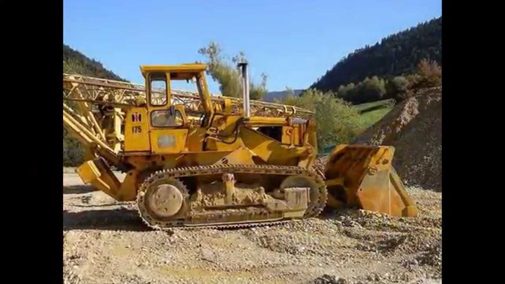 International Harvester 175 pay loader from July 2014