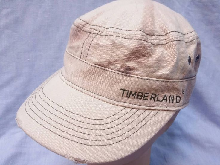 #Vintage Timberland cap hat fishing outdoor logging #hunting #explorer duck denim,  View more on the LINK: http://www.zeppy.io/product/gb/3/239770759/