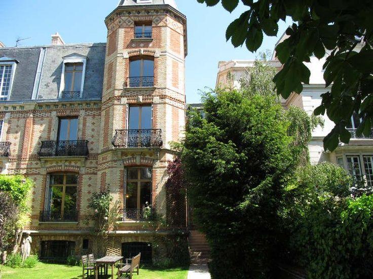 Vente De Prestige   Hôtel Particulier Avec Jardin à Foch à Paris 16ème :  Hôtel Particulier · Chateau HotelLocationEuroVillaLuxury ...