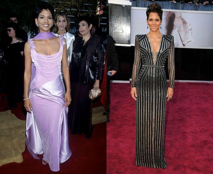 Celebrity na Oscarech tehdy a nyní - Halle Berry