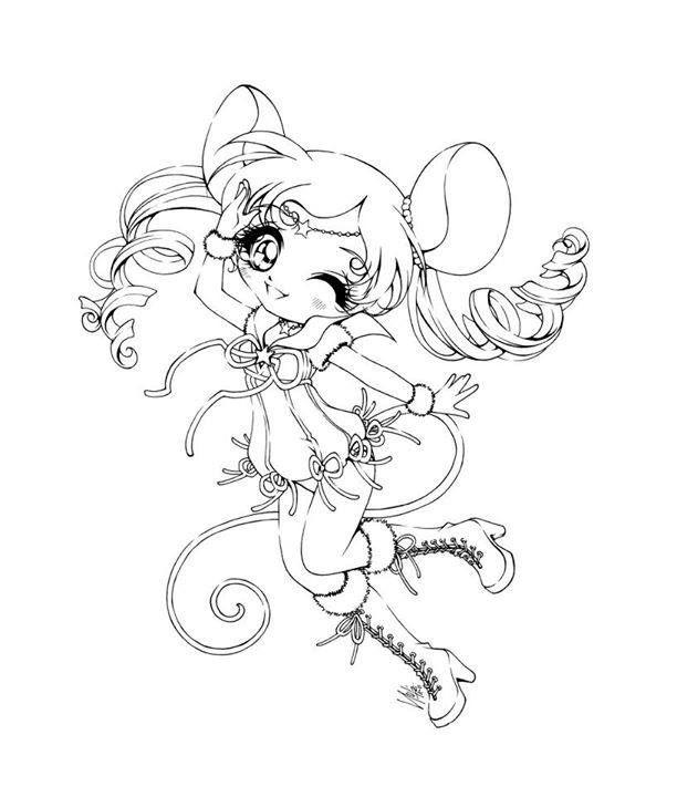 Les 294 meilleures images du tableau coloriage chibi sur pinterest chibi coloriage et dessins - Coloriage manga a colorier ...