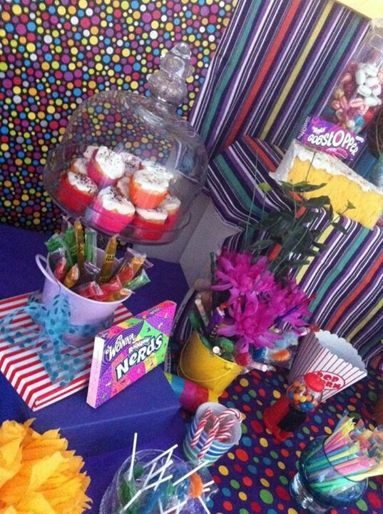 My son's wonka party 2012
