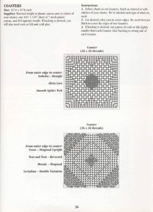 Best Knitting Stitch Dictionary : 17 Best images about Plastic Canvas Basics & Stitches on Pinterest Plas...