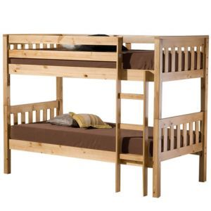 seattle pine bunk bed king size
