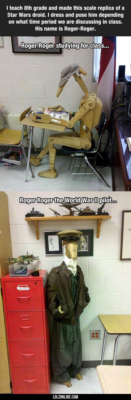 When The 8th Grade Teacher Is A Star Wars Fan #haha #funny