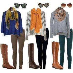 fall outfits: Idea, Fall Style, Dream Closet, Clothes, Fall Outfits, Fall Fashion, Scarf, Fall Winter, Boots