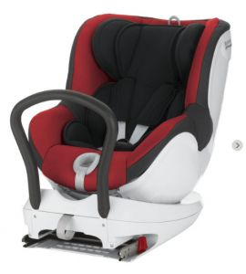 Read my Britax Dual Fix Car Seat Review - one of the first UK car seats to enable rear-facing up to 4 years of age.