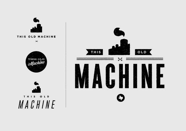 this old machine logos