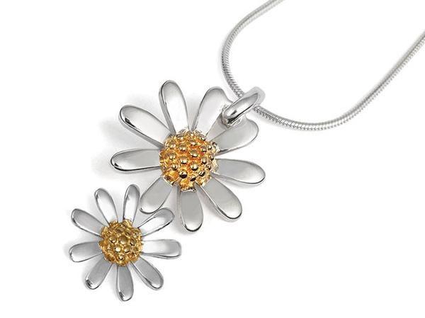 Silver Pendant - Daisy Chain