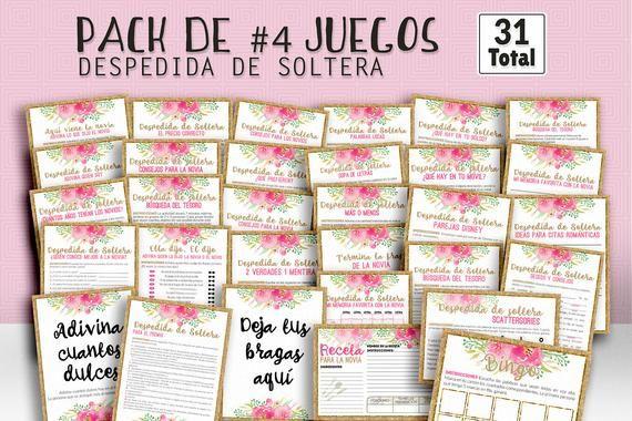 Bridal shower games in spanish gold shower games in spanish set of bridal games printable shower games bridal games bridal game digital