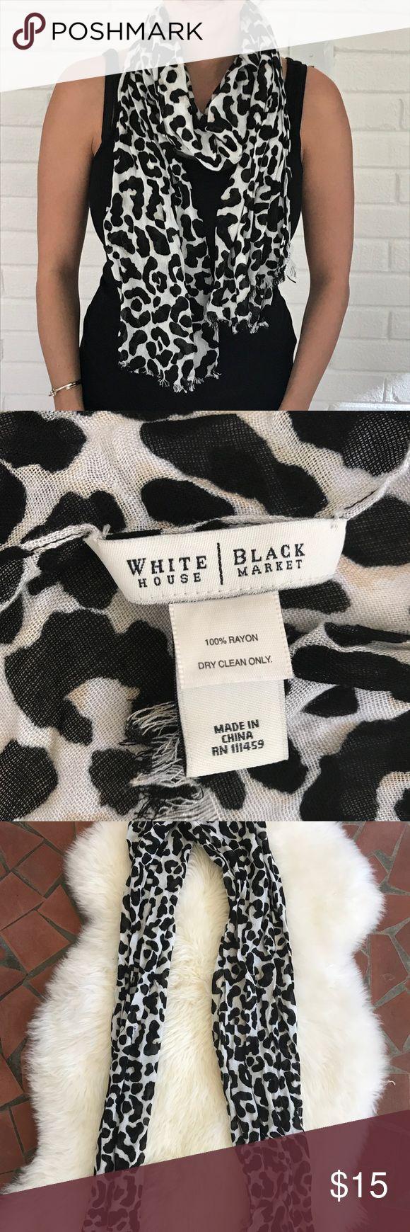 25+ cute Leopard print scarf ideas on Pinterest