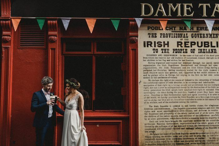 This Gorgeous Dublin City Hall Wedding Absolutely Took Our Breaths Away Junebug Weddings Dublin Wedding City Hall Wedding Dublin City