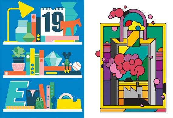 New illustration: Lynnie Zulu, Outline Artists, the Art of Ping Pong & more | Creative Review