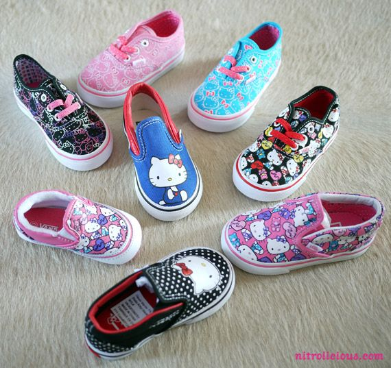 HELLO KITTY X VANS – SPRING/SUMMER 2012 COLLECTION- she got last years collection, guess i gotta get ready for this one's
