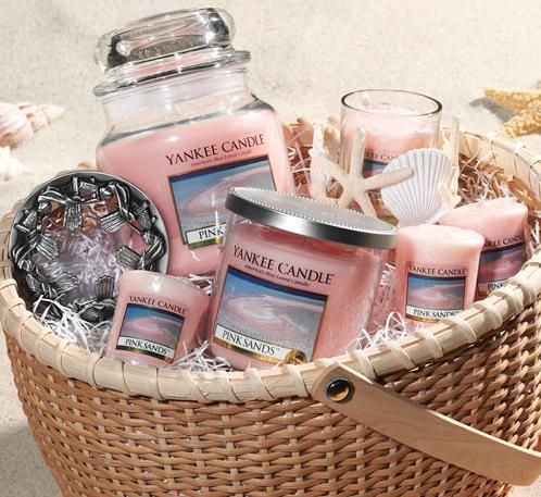 Yankee Candle Pink Sands BEST SMELL EVER!!!!!!!!!!