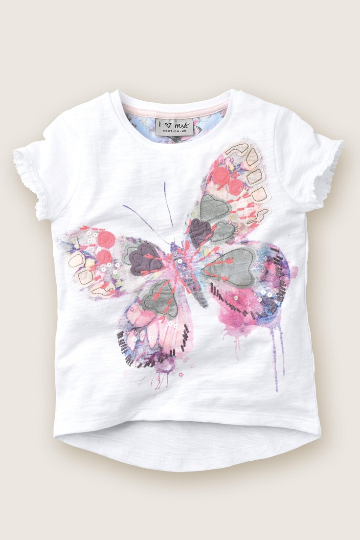 Buy Butterfly Print Top (3mths-6yrs) from the Next UK online shop
