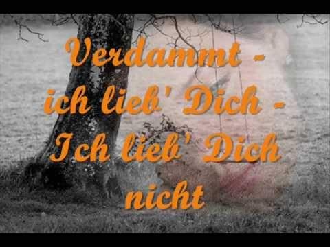 Matthias Reim - Verdammt, ich lieb' dich (lyrics)