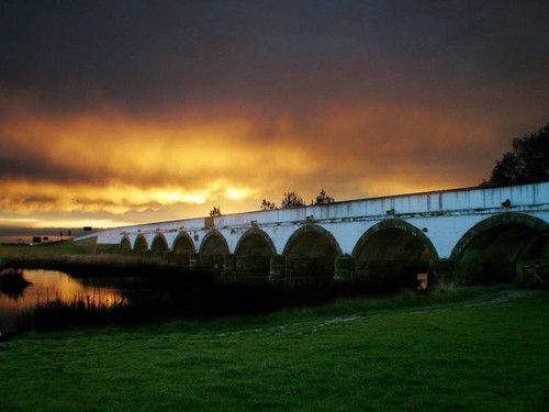Nine Arch Bridge - Hortobágy Puszta - Hungary, wonderful ancient home of the hungarians