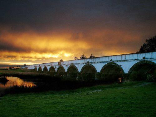 Nine Arch Bridge - Hortobágy Puszta - Hungary, wonderful ancient home of the hungarians
