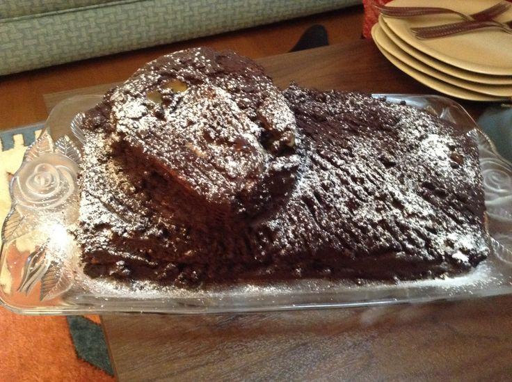 Yılbaşı Pastası (kütük pasta)