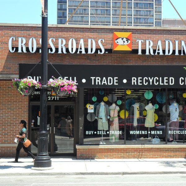 Chicago, North Clark St., Lincoln Park - Crossroads