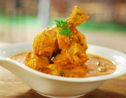 Andhra Style Chicken - Spicy and full of flavour, this chicken is simply irresistible.