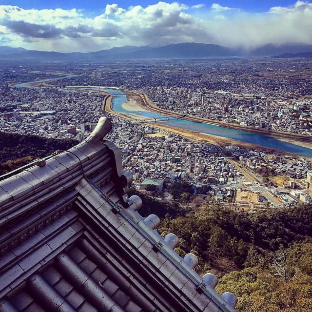 The majestic view from Gifu Castle