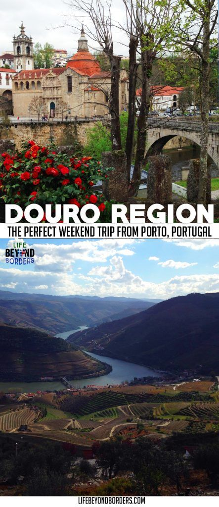The Douro region of north Portugal - not far from Porto - is a beautiful area to visit any time of the year. A day trip or weekend from Porto, be sure to explore. #Porto #DouroValley #Portugal