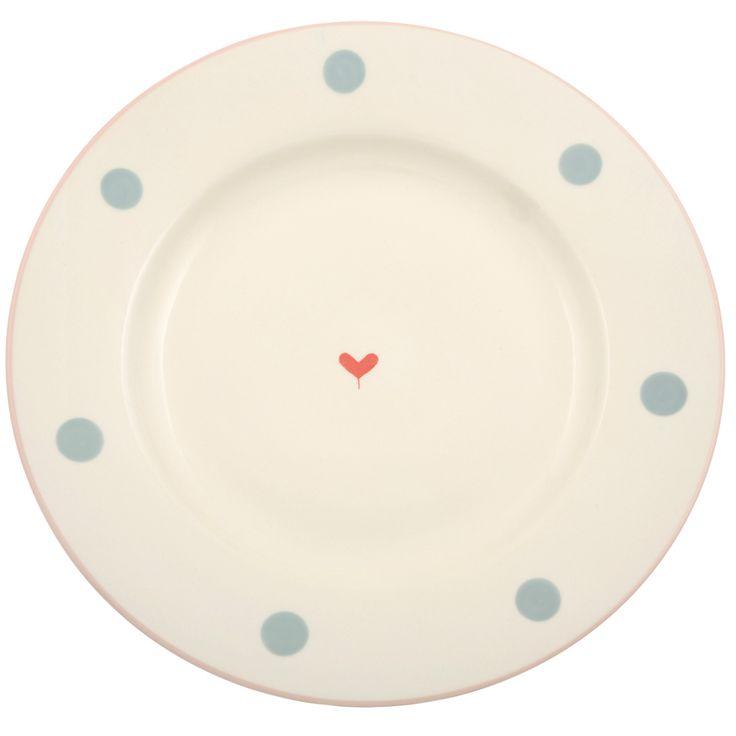 Oscar Dinner Plate | Susie Watson Designs