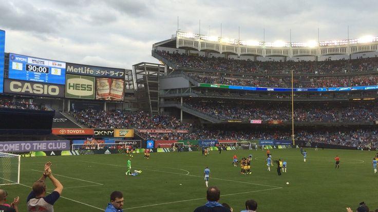 NYC Football Club Yankee Stadium