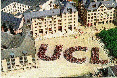 Or do I want to go here?? Universite catholique de Louvain, in Belgium