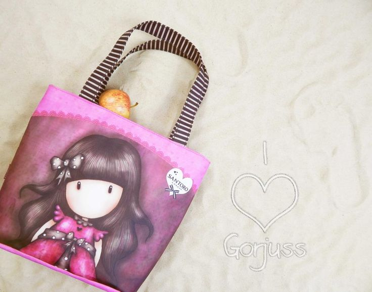 Gorjuss Ladybird Lunch Bag! Shop the collection here: http://www.santoro-london.com/shop/bags-accessories/bags/lunch-bags/