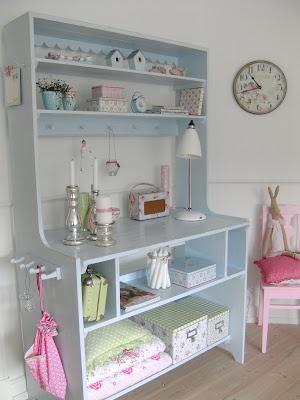 .: Candy Colors, Pastel Kitchens, Chic Vintage, Shabby Pastel, Ambianc Shabby, Pastel Colors, Blue Cottages, Colors Interiors, Atelier Offices