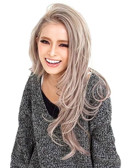 """I don't know if it's correct to call this color """"ash blond"""" but I love this color. #hair"""