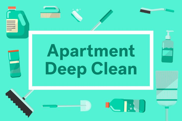 apartment cleaning checklist #apartment #rental #cleaning