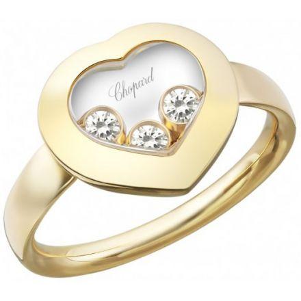 Chopard Bague Happy Diamonds Icons Or Jaune 18K Et Diamants ...