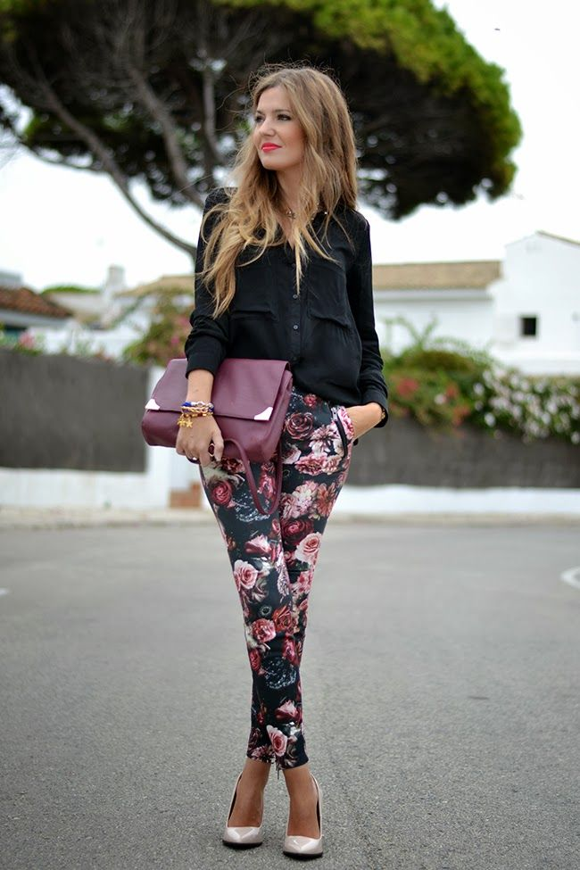 interview outfits, floral top - Google Search
