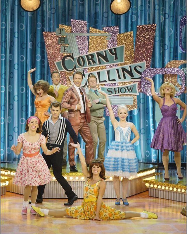 the corny collins show#cwd #macysparade #tagsforlikes #hairspraylive #dovecameron #ambervontussle #hairspray #musicals #nbc @dovecameron