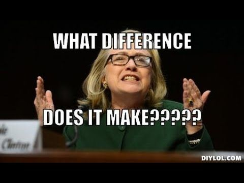 Negative Hillary Clinton Poll Disappears The whore of Babylon continues to smite all that is good in this world.  She is truly evil. NEVER FORGET BENGHAZI