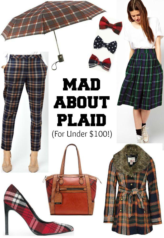 Fall Fashion, Plaid