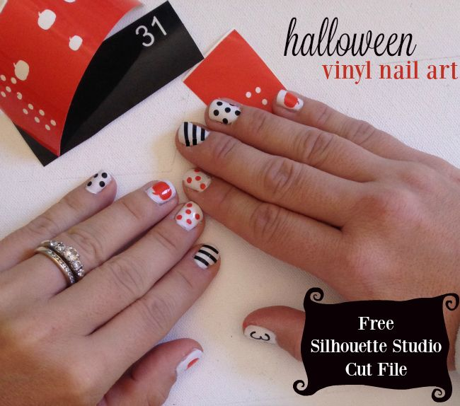 Unique Silhouette Nails Ideas On Pinterest Courtney Richards - How to make vinyl decals with silhouette cameo