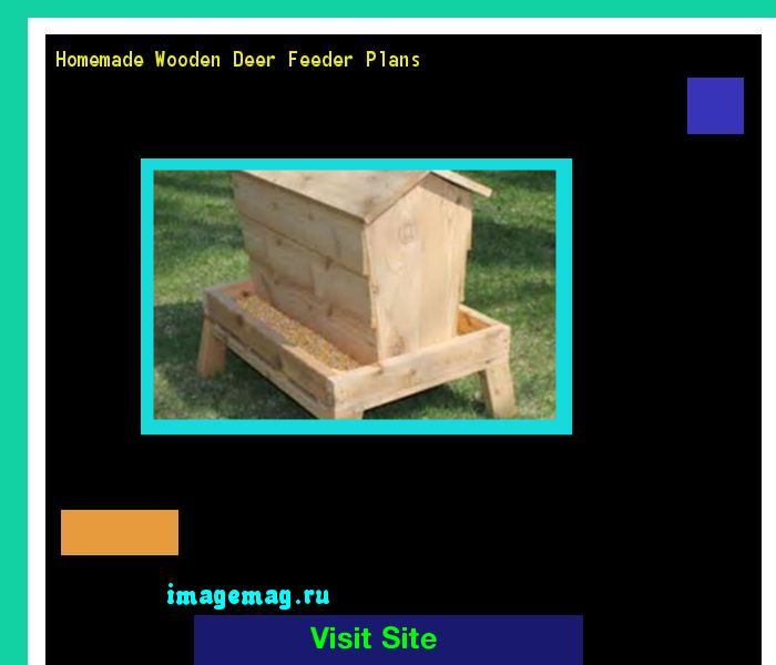 Homemade Wooden Deer Feeder Plans 162944 - The Best Image Search