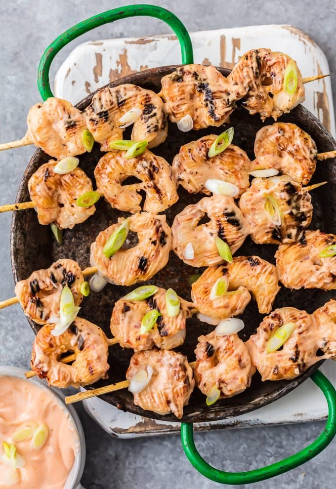 Bang Bang Shrimp is my favorite appetizer from Bonefish Grill. This SKINNY BANG BANG SHRIMP is loaded with flavor but low on calories! Delicious, easy, and crave worthy. This is a delicious appetizer or dinner the entire family will ask for again and again. It will be an instant healthy favorite for your family!