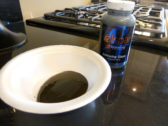 How To Distress Your Kitchen Cabinets   Valspar Antiquing Glaze
