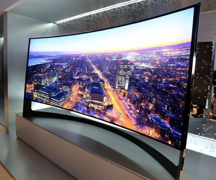 80 inch tv set up samsung television 4k curved tv