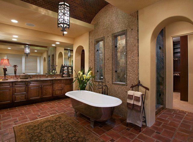 18 Exquisite Mediterranean Bathrooms That Will Show You What Perfection Is  Like Part 10