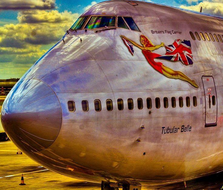 Virgin Atlantic Tubular Belle