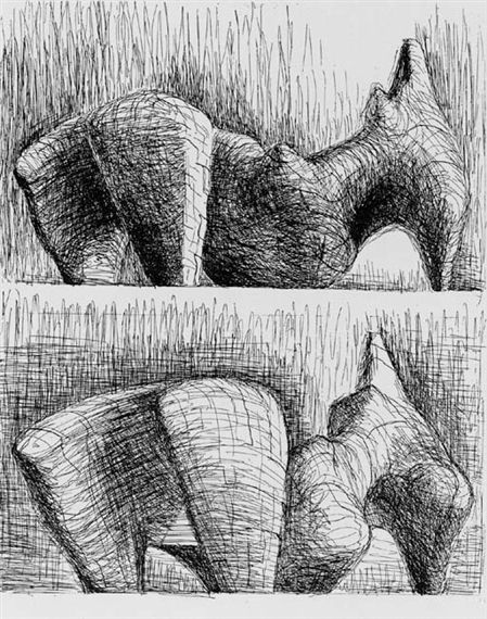 Artworks of Henry Moore (British, 1898 - 1986)