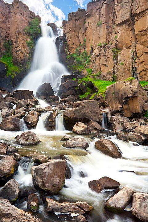 North Clear Creek Falls near Creede, Colorado