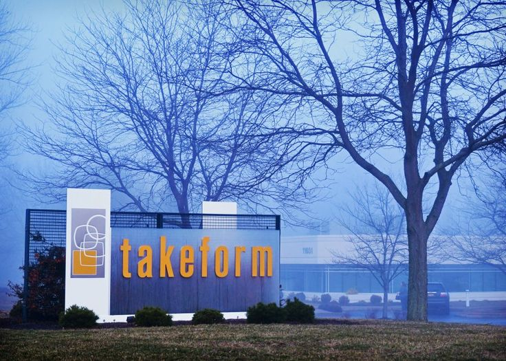 Signify exterior signage design & architectural graphics from Takeform is bold, rugged and true to your brand. An elegant, yet durable way to make your announcement.